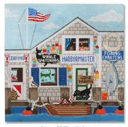 click here to view larger image of Fishing Shanty (hand painted canvases)