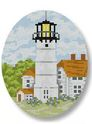 click here to view larger image of Chatham Lighthouse Ornament (hand painted canvases)