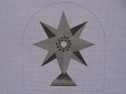 click here to view larger image of Mercury Star (hand painted canvases)