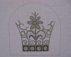 click here to view larger image of Mercury Crown (hand painted canvases)