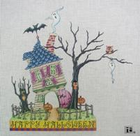 click here to view larger image of Haunted House (hand painted canvases)