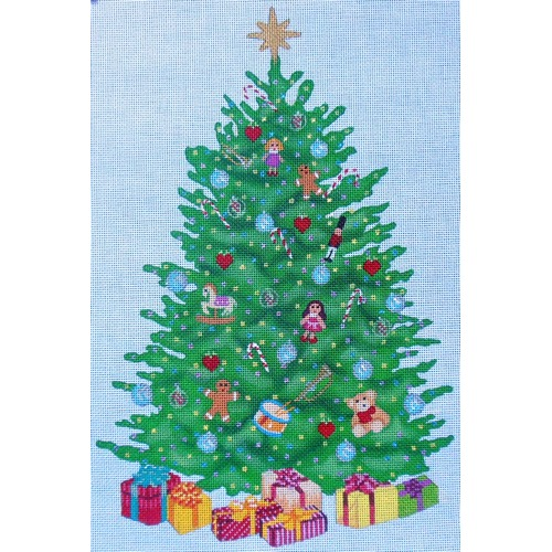 click here to view larger image of Oh Christmas Tree (hand painted canvases)