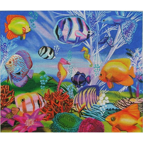 click here to view larger image of Oceans Little Wonders (hand painted canvases)
