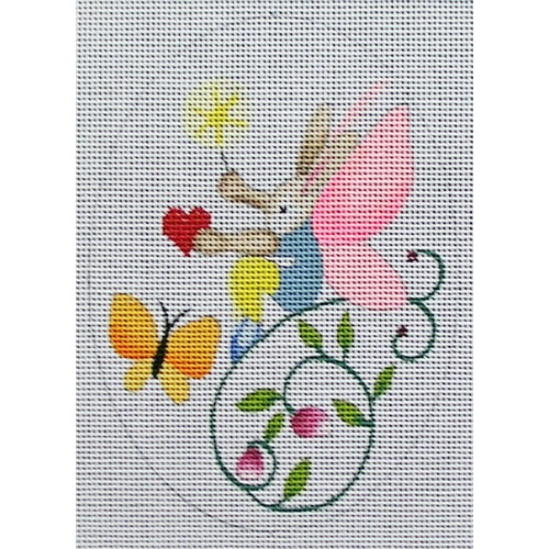 click here to view larger image of Bunny Fairy 1 (hand painted canvases)