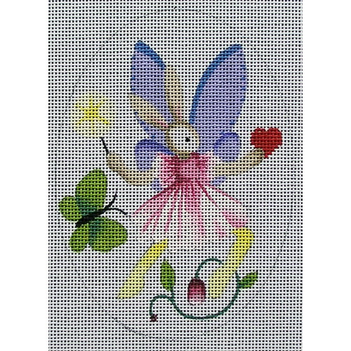 click here to view larger image of Bunny Fairy 6 (hand painted canvases)