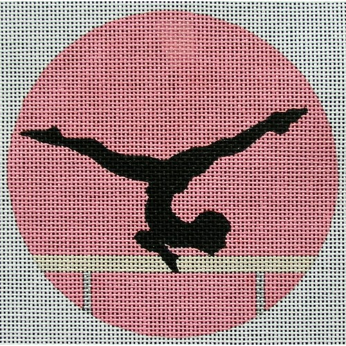 click here to view larger image of Gymnast Female Ornament (hand painted canvases)