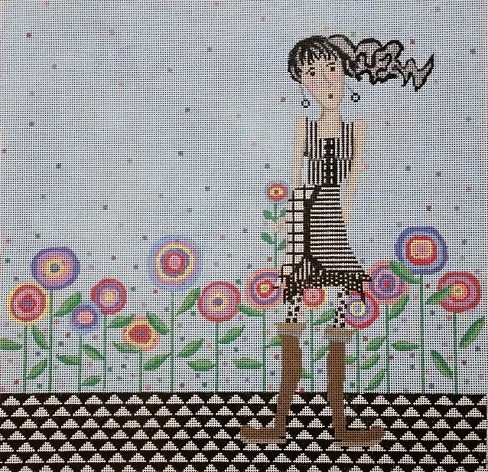 click here to view larger image of Teen In Boots (hand painted canvases)