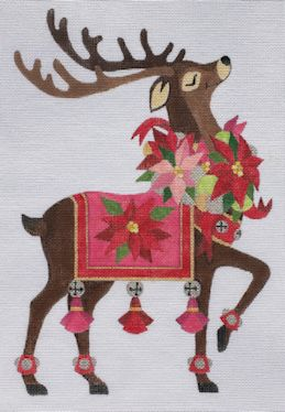 click here to view larger image of Reindeer 1 (hand painted canvases)