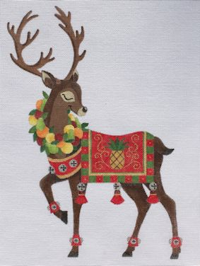 click here to view larger image of Reindeer 3 (hand painted canvases)