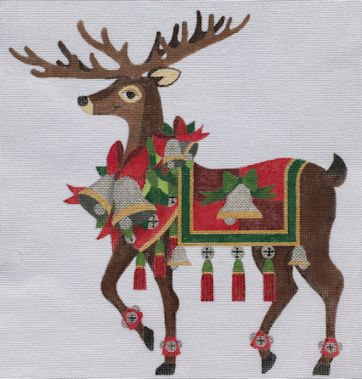 click here to view larger image of Reindeer 4 (hand painted canvases)