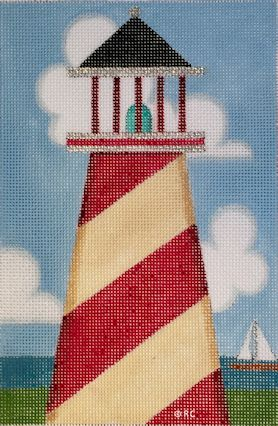 click here to view larger image of Lighthouse 1 (hand painted canvases)