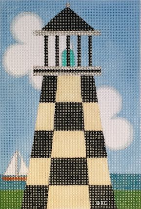 click here to view larger image of Lighthouse 2 (hand painted canvases)