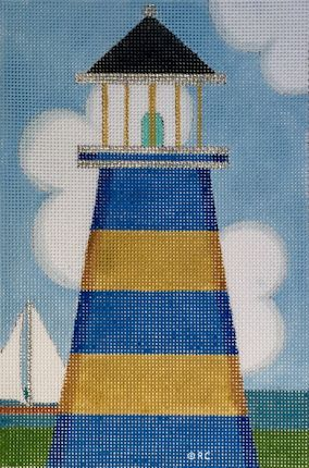 click here to view larger image of Lighthouse 3 (hand painted canvases)