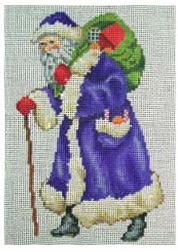 click here to view larger image of Large Victorian Santa (hand painted canvases)