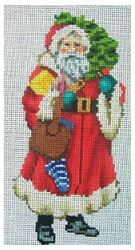 click here to view larger image of Large Victorian Santa 4 (hand painted canvases)