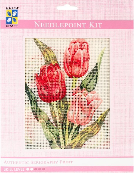 click here to view larger image of Tulips Needlepoint Kit (needlepoint kits)