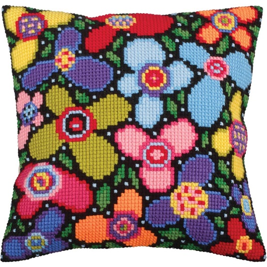 click here to view larger image of Flower Glade (needlepoint kits)