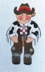 click here to view larger image of Texan Ron (hand painted canvases)