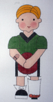 click here to view larger image of ER Boy, Left Leg (hand painted canvases)