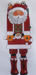 click here to view larger image of Mr. Santa Claus (hand painted canvases)