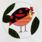 click here to view larger image of Annabelle Bird (hand painted canvases)