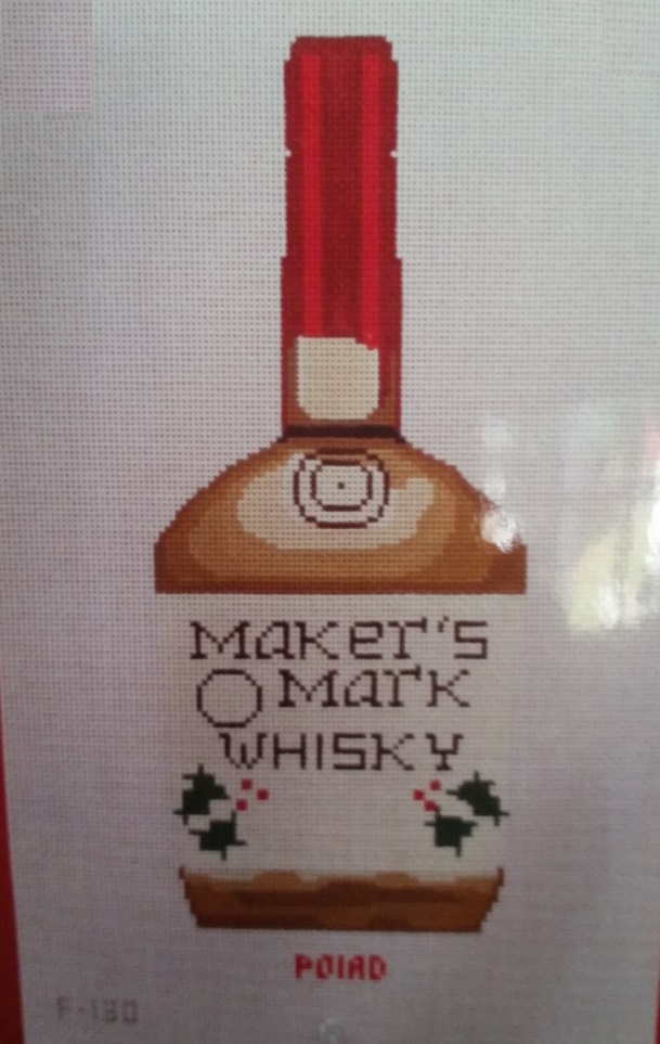 click here to view larger image of Makers Mark (hand painted canvases)