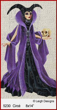 click here to view larger image of Circe - Witchy Women (hand painted canvases)