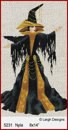 click here to view larger image of Nyla - Witchy Women (hand painted canvases)