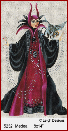 click here to view larger image of Medea - Witchy Women (hand painted canvases)
