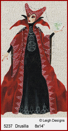 click here to view larger image of Drusilla - Witchy Women (hand painted canvases)