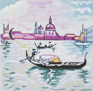 click here to view larger image of Venice (hand painted canvases)