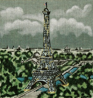 click here to view larger image of Paris (hand painted canvases)