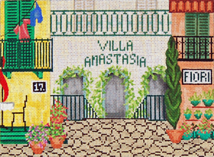 click here to view larger image of Villa (hand painted canvases)