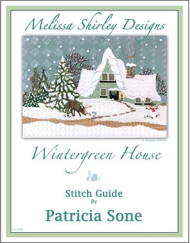 click here to view larger image of Wintergreen House Stitch Guide (books)
