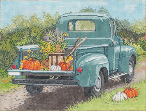 click here to view larger image of Country Road (hand painted canvases)