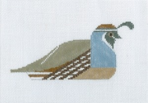 click here to view larger image of California Quail (hand painted canvases)