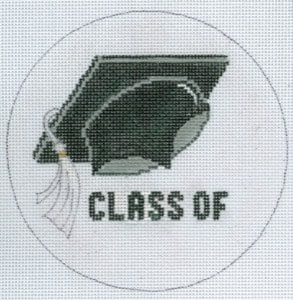 click here to view larger image of Graduation Cap Class of….. (hand painted canvases)