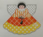 click here to view larger image of Candy Corn Angel (hand painted canvases)
