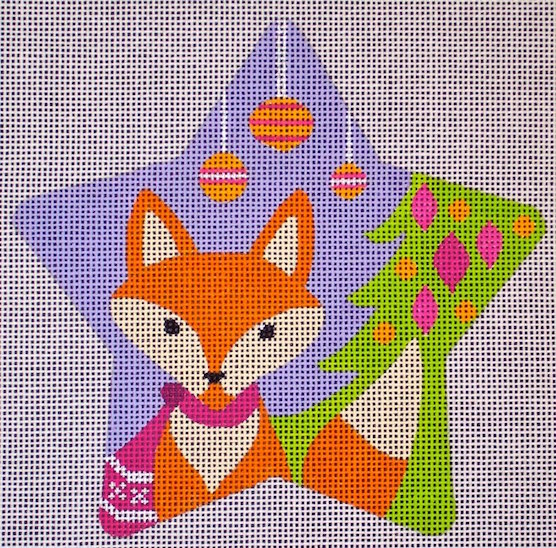 click here to view larger image of Fox Star (hand painted canvases)