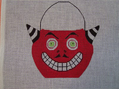 click here to view larger image of Candy Pail Goblin (hand painted canvases)