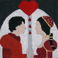 click here to view larger image of Romeo & Juliet - Movie Coaster (hand painted canvases)