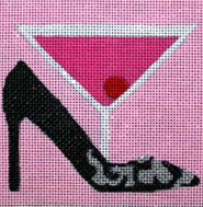 click here to view larger image of Sex In The City - Movie Coaster (hand painted canvases)