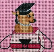 click here to view larger image of Legally Blonde - Movie Coaster (hand painted canvases)