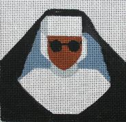 click here to view larger image of Sister Act - Movie Coaster (hand painted canvases)
