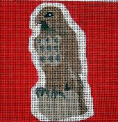 click here to view larger image of Maltese Falcon - Movie Coaster (hand painted canvases)