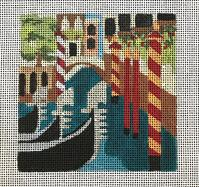 click here to view larger image of Venice - Travel Coasters (hand painted canvases)