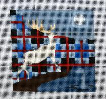 click here to view larger image of Scotland - Travel Coasters (hand painted canvases)