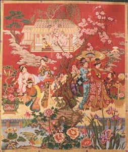 click here to view larger image of Chinese Wedding (hand painted canvases)