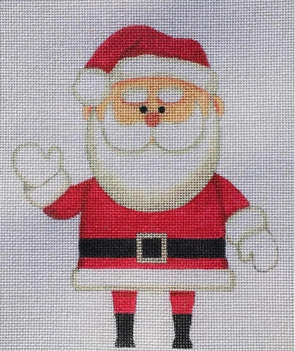 click here to view larger image of Mr. Santa - 18ct (hand painted canvases)