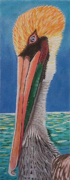 click here to view larger image of Pelican - 18ct (hand painted canvases)